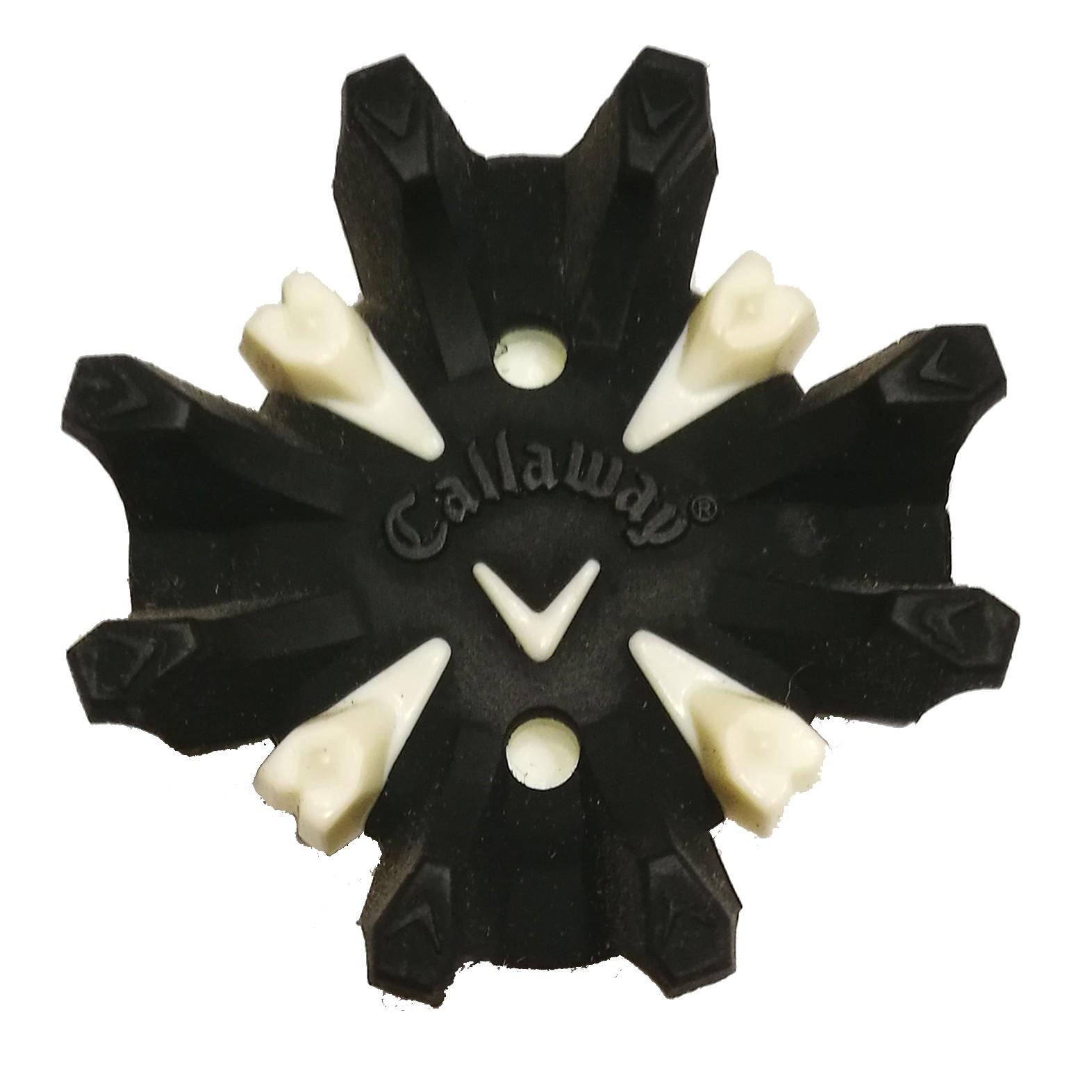 a7380757762b6 Spikes Callaway Blanco y Negro para zapatos de golf