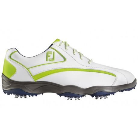 Zapatos FootJoy Blanco/Verde Superlites Hombre