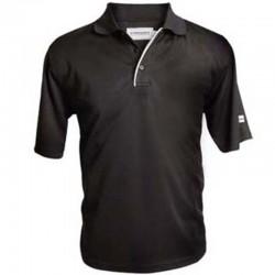 Camiseta Forgan M Mediana Negra MXT color sólido Polo