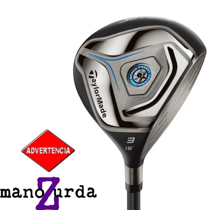 43f508f5e8eae Almacen de golf Madera TaylorMade 5W S Jetspeed grafito palos de golf