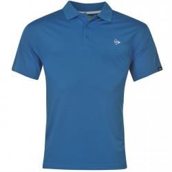 Camiseta Dunlop XL Extra Grande Azul plain liviana transpirable hombre Polo