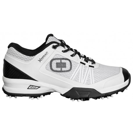 Zapatos Ogio11M Blanco/Negro Spiked Sport Xwrap Hombre