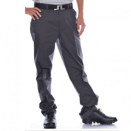 Pantalón de golf Ashworth 42 Gris Oscuro rayado stretch