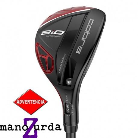 Híbrido de golf Cobra ZURDO 2H-3H Stiff Ajustable BiO Cell Rojo