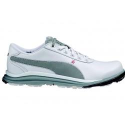 Zapatos Puma Blanco/Gris Cuero BioDrive Hombre