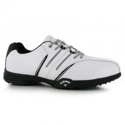 e886186c39273 Zapatos Callaway Blanco Negro Gris Cuero... Zapatos de golf ...