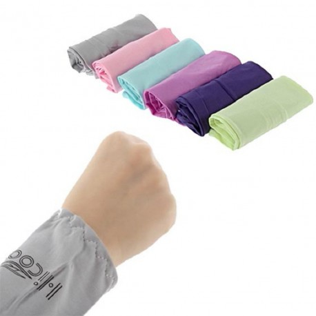 Mangas Blancas protectores de brazos sleeves frescos talla única