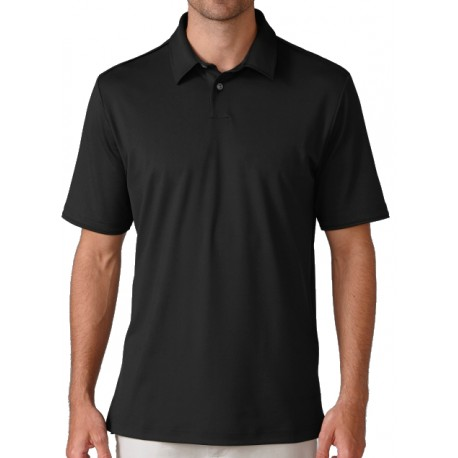 Camiseta Ashworth M Negra Mediana Matte Interlock Solid