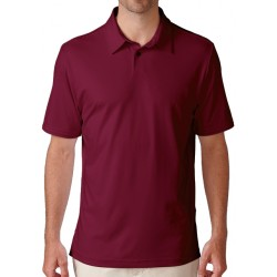Camiseta de golf Ashworth XXL Roja Mediana Matte Interlock solid currant red