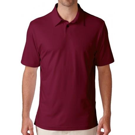 Camiseta de golf Ashworth XXL Roja Mediana Matte Interlock solid currant red