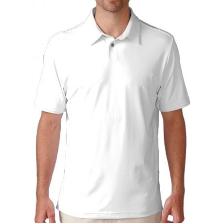 Camiseta Ashworth L blanca grande Matte Interlock Solid