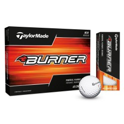 Bolas de golf TaylorMade Burner Docena (12 Unidades) blancas