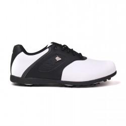 Zapatos Dunlop 10M Blanco y Negro Classic Hombre