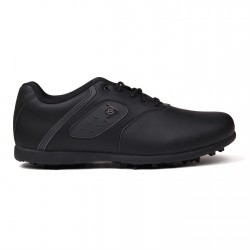Zapatos de golf Dunlop 9M Negro Classic Hombre