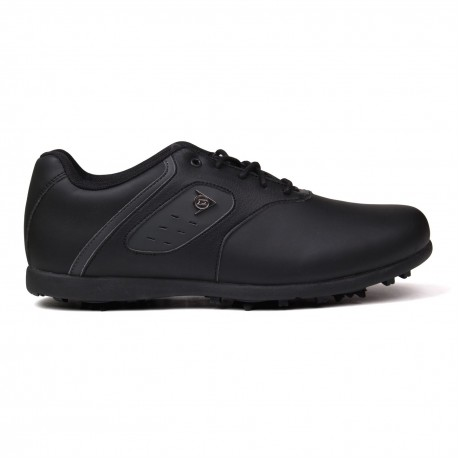 Zapatos de golf Dunlop 10M Negro Classic Hombre