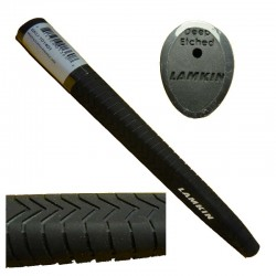 Grip Putter Lamkin estandar deep etched negro