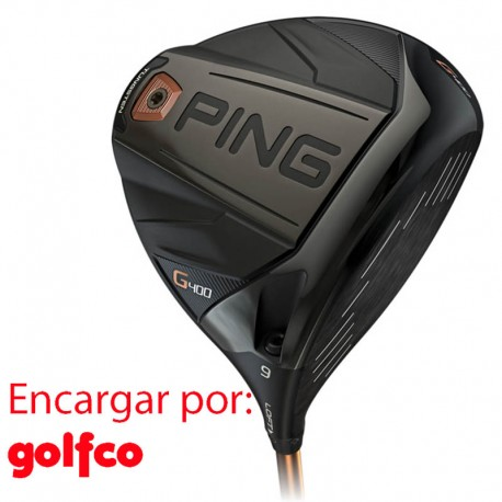 ENCARGO Driver Ping G400 (Kuro) golfco palos de golf
