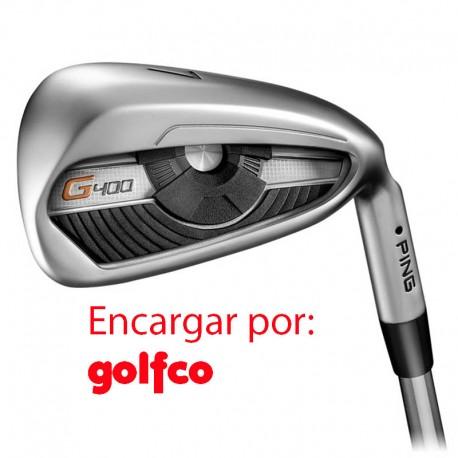ENCARGO Hierro Ping G400 Grafito (Alta CB) Unidad golfco palos de golf
