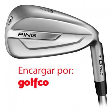 ENCARGO Hierro Ping G700 Grafito (Alta CB o UST ) Unidad Golfco palos de golf