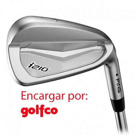 ENCARGO Hierro Ping i210 Acero (AWT o NIP o Poject X o KBS ) Unidad golfco palos de golf