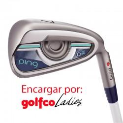 ENCARGO Hierro Ping G le DAMAS (Grafito ULT ) Unidad golfco Palos de golf