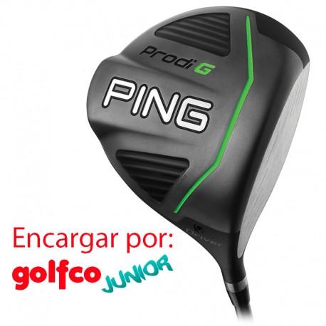 ENCARGO Driver Ping JUNIOR Prodi G (Stiff - Verde, Regular - Blanco) golfco palos de golf