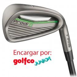 ENCARGO Hierro Ping JUNIOR Prodi G (Stiff - Verde, Regular - Blanco) Unidad golfco palos de golf