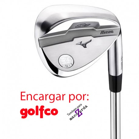 ENCARGO Wedge Mizuno S-18 White Satin golfco palos de golf