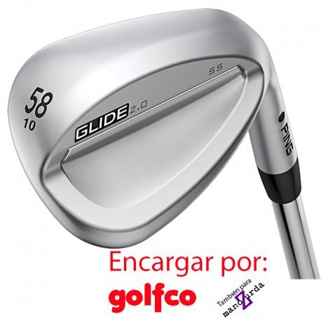 ENCARGO Wedge Ping Glade 2.0 Acero (AWT 2 NIP KBS Project X) golfco palos de golf