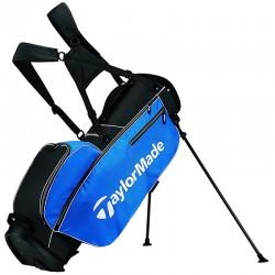 Talega TaylorMade azul y negro 5.0 de patitas y parar stand golfco palos de golf