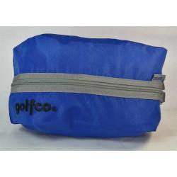 Estuche golfco Azul bolsa organizadora multi usos para bolas y otros