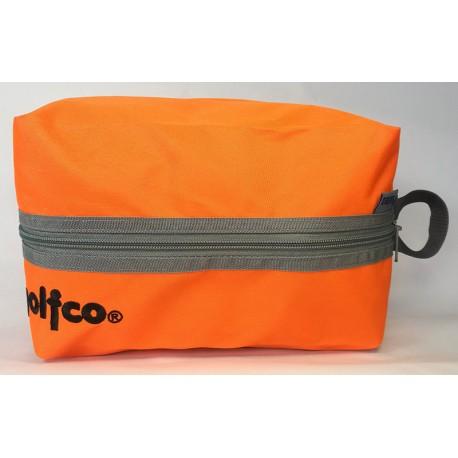 Estuche golfco Naranja bolsa organizadora multi usos para bolas y otros