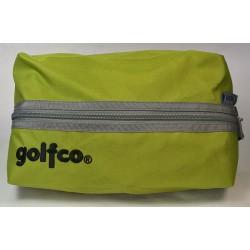 Estuche golfco verde bolsa organizadora multi usos para bolas y otros