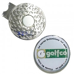 Clip marcador golfco para gorra