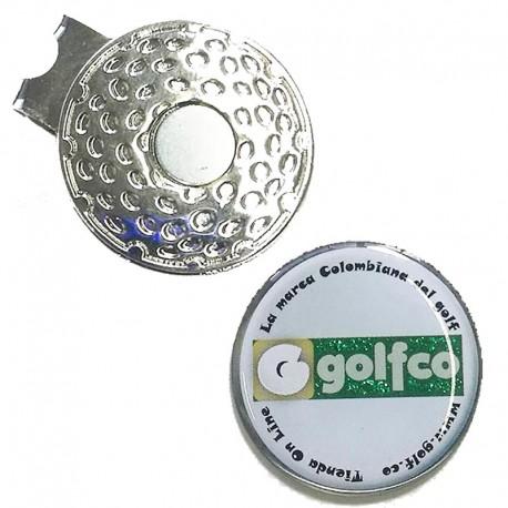 Clip marcador golfco para gorra de golf golfco tienda de golf