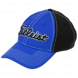 Gorra cachucha Titleist Azul-Negro Performance Pique Royal-Black