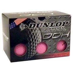 Bolas de golf Dunlop Rosadas Docena DDH 12 Unidades