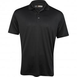 Camiseta Callaway L Negra Caviar Grande Opti Dri Stretch polo hombre