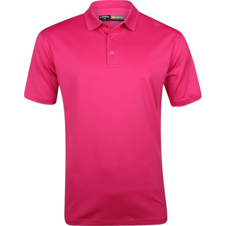 Camiseta de golf Callaway M Fucsia Very Berry Mediana Opti Dri Stretch polo golfco
