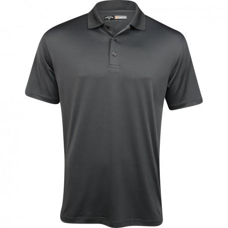 Camiseta de golf Callaway S Gris Asphalt Pequeña Opti Dri Stretch polo hombre