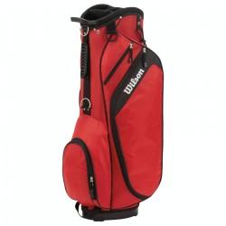 Talega de golf Wilson roja de carrito Profile golfco tienda de golf