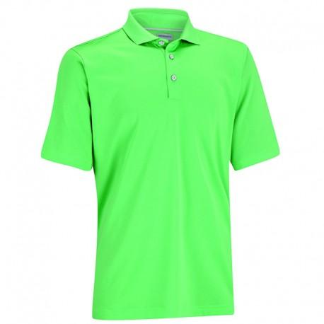 Camiseta de golf Ashworth M Verde Tee EZ-SOF Hombre Solid polo