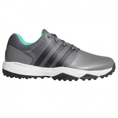 Zapatos de golf Adidas 9.5M Gris Hombre 360 Traxion sin spikes