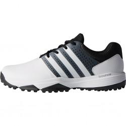 Zapatos de golf Adidas ANCHO 7W Blancos Hombre 360 Traxion sin spikes