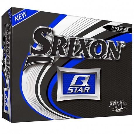 Bolas de golf Srixon Q star blanca DOCENA tienda de golf golfco