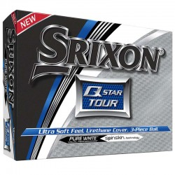 Bolas de golf Srixon Q star Tour blanca DOCENA