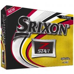 Bolas de golf Srixon Z star blanca DOCENA tienda de golf golfco
