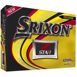 Bolas de golf Srixon Z star amarilla DOCENA tienda de golf golfco