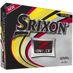 Bolas de golf Srixon Z star XV amarilla DOCENA