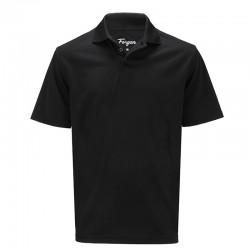 Camiseta Forgan XXL doble extra grande Negra Premium Performance St Andrews